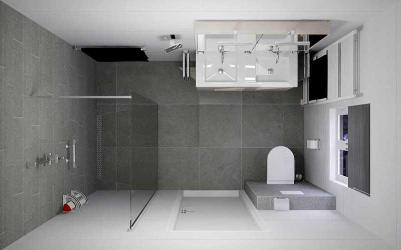 De badkamer verbouwen of renoveren - Aanbouwuitbouw.nl