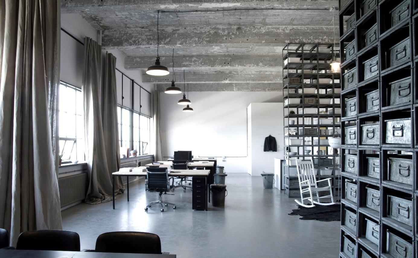 Woonkamer Met Beton : Een woonkamer met beton aanbouwuitbouw